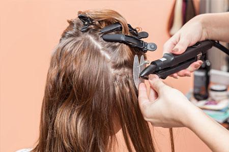 Extension de cheveux a domicile Lens